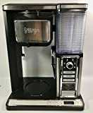 Ninja Auto-iQ Coffee Bar 10-Cup Coffeemaker CF090A with Pod-Free Single Serve and Built-In Frother - Black / Stainless