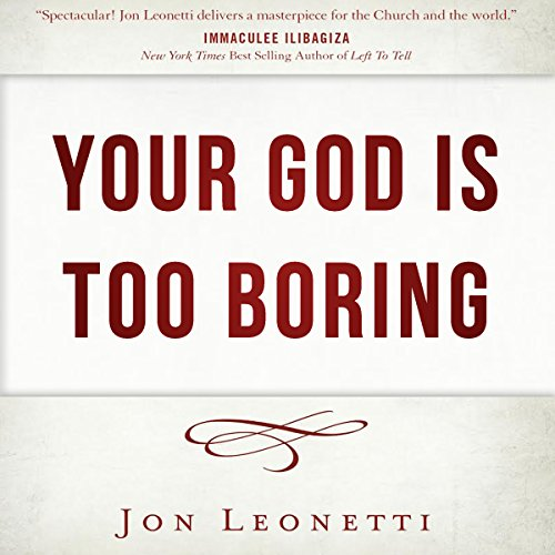 Your God Is Too Boring audiobook cover art