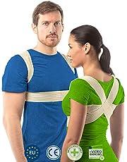 Postuur corrector voor vrouwen en mannen van aHeal   Rugondersteuning voor een goed postuur   Orthopedische rugbrace tegen scoliose en kyfose   Verhelpt rugpijn en corrigeert een slecht postuur