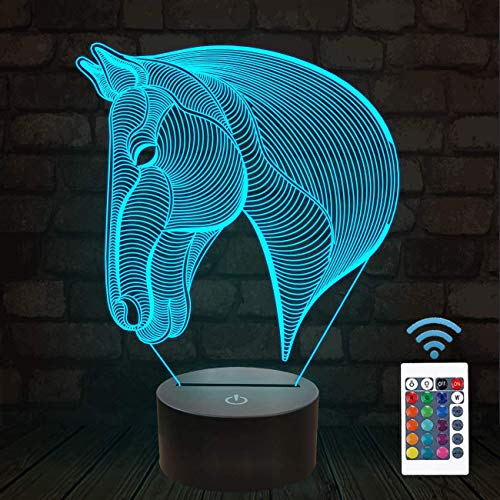 3D Illusion Night Lamp