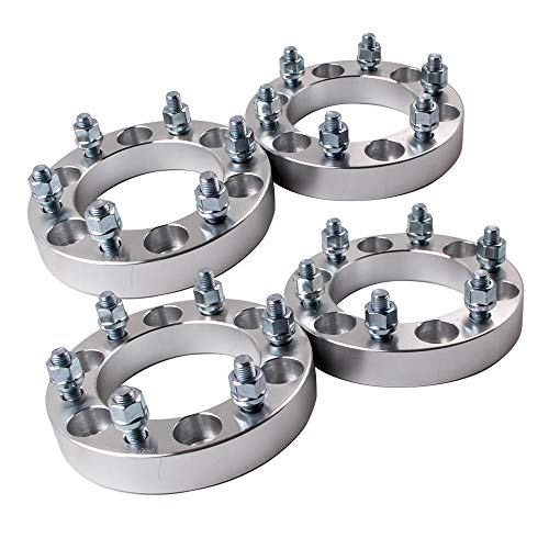 maXpeedingrods 4 Wheel Spacers Adapter 6x139.7mm 30mm 6x5.5'' para Hilux Pajero Ranger