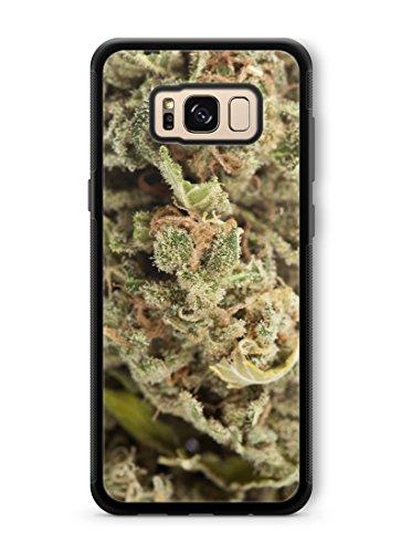 bud phone cases Marijuana Kush Weed Protective Rubber Phone Case 420 dank Bud (Galaxy s8)