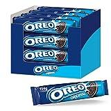 OREO Original, Double biscuit croquant au cacao fourré à la crème végétalienne - Pack de 16x154g