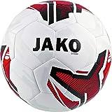 JAKO Fußbälle Trainingsball Champ, weiß/rot/schwarz, 5, 2350