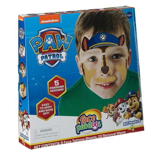 Face Paintoos Paw Patrol