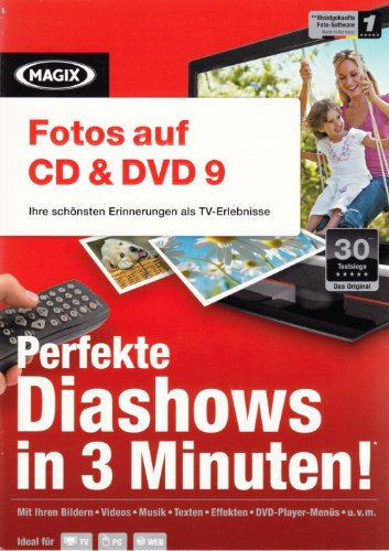 MAGIX Fotos auf CD & DVD 9 (Minibox)