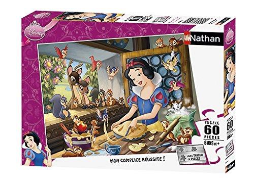 Nathan - Puzzle Blancanieves de 60 Piezas (27.5x19.2 cm) (Ravensburger 86554)