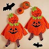 Gyratedream Babykleidung Kleinkind Baby Jungen Mädchen Halloween Kürbis Kostüm Süße Baumwolle Outfits 0-24 Monate