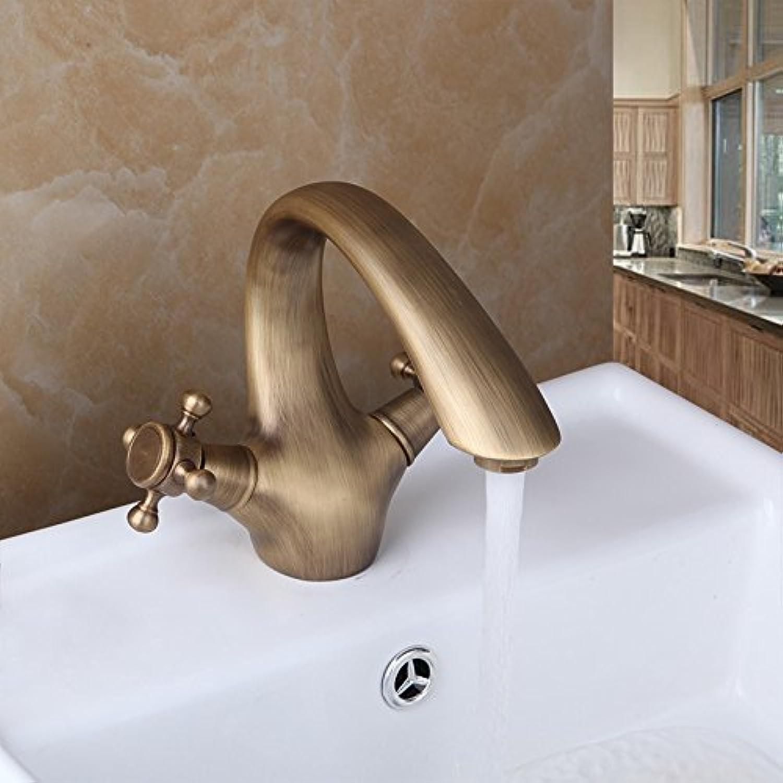 Maifeini Wei Der Einhebelsteuerung Messing Antik Waschbecken Im Bad Klicken Sie Auf Mischpult Waschbecken Wasserhhne, Kupfer