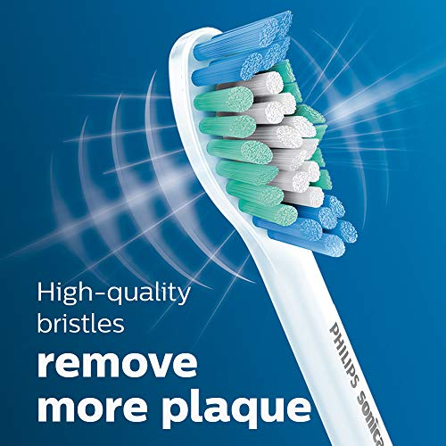 Genuine Philips Sonicare Simply Clean Replacement Toothbrush Heads, 5 Pack, HX6015/03