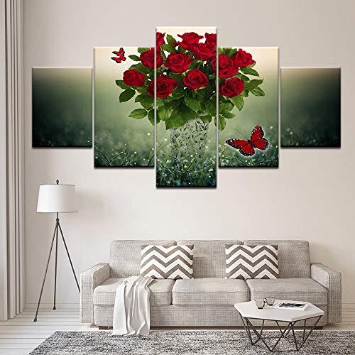 roos schilderij ikea