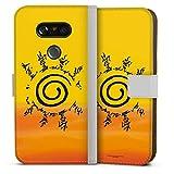DeinDesign Étui Compatible avec LG G5 Étui Folio Étui magnétique Naruto Shippuden Produit sous...