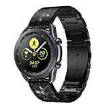 Compatible with Galaxy Watch Active 2 40mm 44mm Resin Band -YSSNH 20mm Quick Release Watch Bands Stainless Steel Lightweight Fashion Men Women Wristband for Galaxy Watch 3 41mm/Gear Sport/S2 Classic