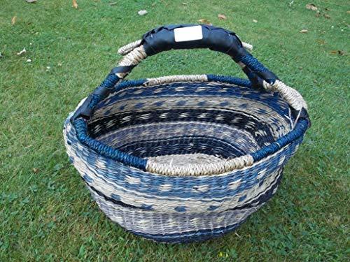 Korbtasche Malikorb aus Pflanzenfaser, Malitasche, (Farbe/Muster von Korbhaus Gesthüsen ähnlich Sortiert)