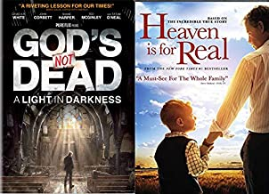 Truth Is God: Heaven Is For Real & God's Not Dead A Light In Darkness DVD Faith Based Bundle