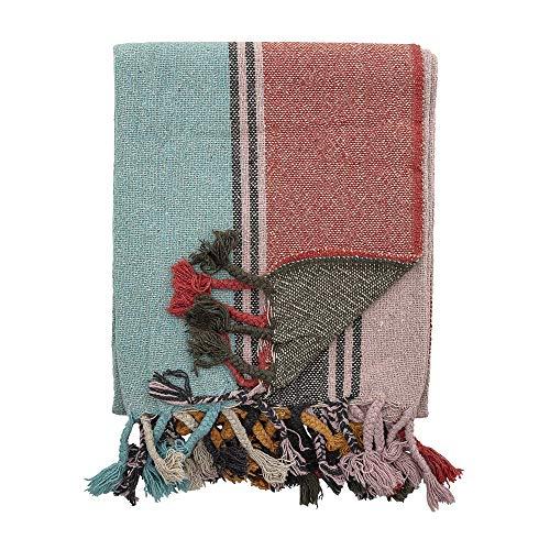 Bloomingville Plaid, couleurs multiples, coton