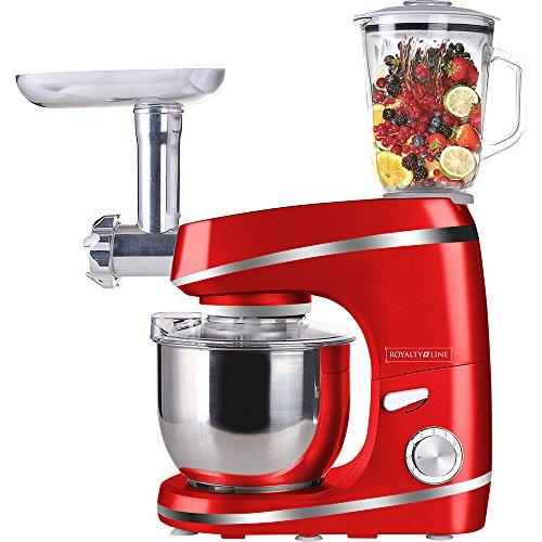 Classic Line Robot de cocina y Licuadora y batidora amasadora rojo