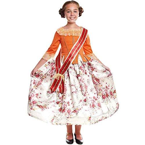 Disfraz Fallera Nia Carnaval Mundo (Talla 10-12 aos) (+ Tallas)