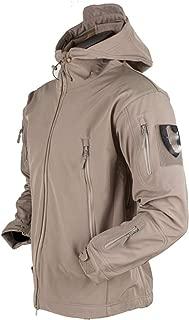 Military Jacket Style Men Tactical Windbreaker Clothes Shark Skin Winter Softshell Coat Waterproof Jacket