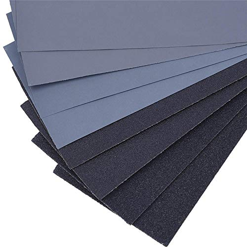 Best Bargain 230x93mm 120-3000 Grit Waterproof Sandpaper Polishing Abrasive Sanding Paper - #4