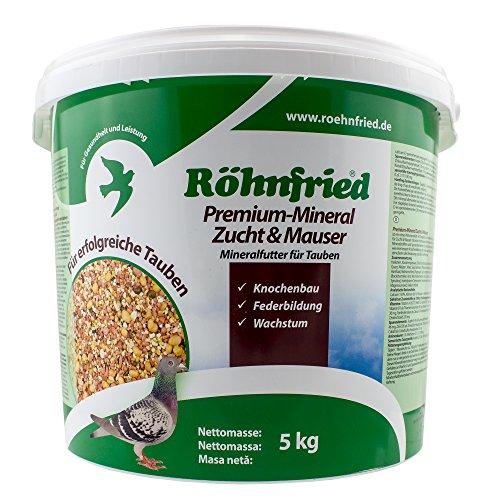 Röhnfried Premium Mineral Zucht+Mauser - mit Kräutern für Tauben (5 Kg)
