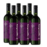 Amazon-Marke - Compass Road Rotwein Tempranillo trocken, Spanien (6x0,75L)