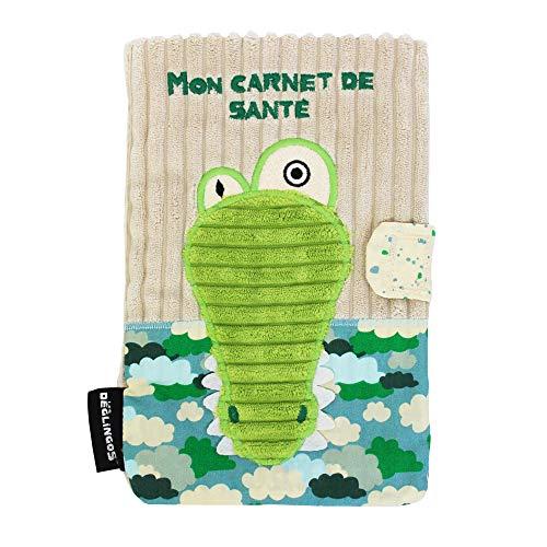 Les Deglingos Protège Carnet de Santé Aligatos l'Alligator