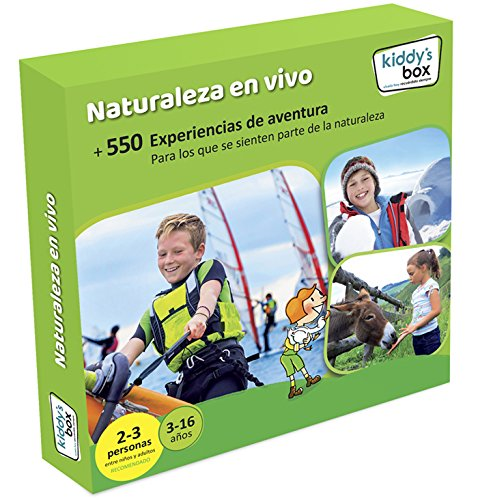 Caja Regalo Infantil Naturaleza En Vivo Kiddy's Box