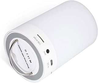 Bluetooth Speaker with Smart Touch LED Mood Lamp, Portable Romantic Lighting Bluetooth Speaker, Music Player / Hands-free ...