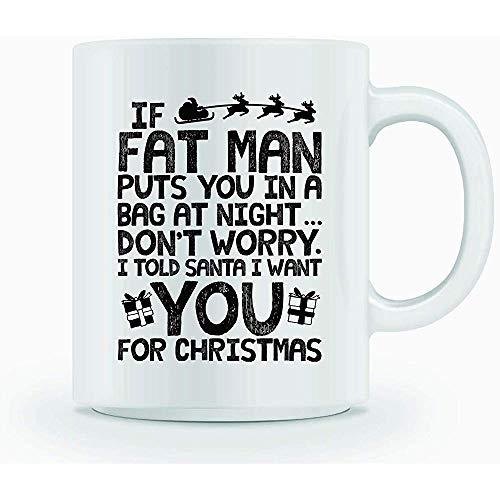 Kerstkoffiemok met tekst 'Für VTTMANN Sie in eine Tasse Night PUTS beker-geschenk in de blauwe band-doos-geschenken voor specialist
