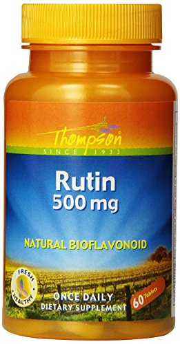 Thompson Rutin, 500mg, 60 Tablets