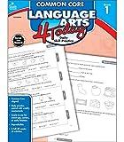 Carson Dellosa   Common Core Language Arts 4 Today Workbook   1st Grade, 96pgs (Common Core 4 Today)