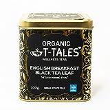 Organic T-Tales - Té negro ecológico en lata de 100g (English Breakfast - THE GOOD...