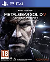 Metal Gear Solid V: Ground Zeroes (PS4) (輸入版)