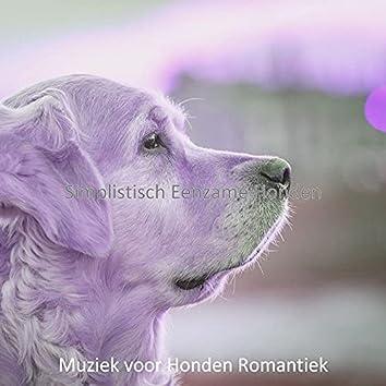 Simplistisch Eenzame Honden