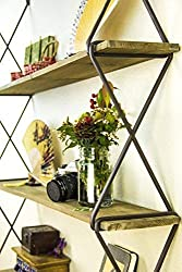 rustic Shelves Storage for Wall Decor