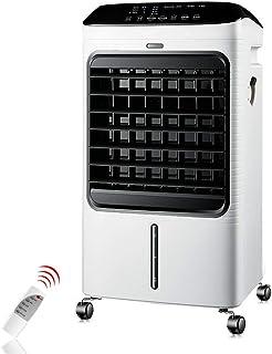 Climatizadores Evaporativo Heater Acondicionados Humidificador Con Calefactor 50W/2000W Purificador Temporizador 4 en 1 Enfriador Capacidad de 8 L
