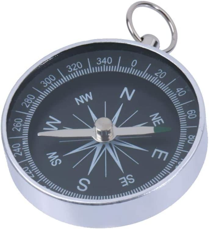 MDHANBK 2pcs Aluminum Mini Compass High Classic quality new with Camping Keych Navigation