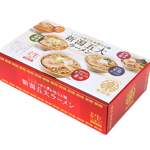 新潟五大ラーメンBOX 三旺食品合資会社