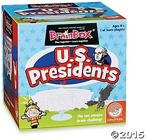 BrainBox  US Presidents by MindWare