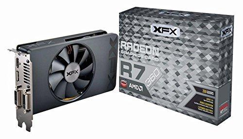 XFX AMD Radeon R7 360 2 GB GDDR5 PCI Express ATI Graphics Card - Bl