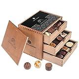 ChocoGrande - 30 deliziosi cioccolatini | Idea regalo | Compleanno | Fidanzata | Natale | San Valentino | Regalo | Uomini | Donne | Uomo | Donna | Fidanzata | Genitori | Madre | Padre | Amico | Regalo