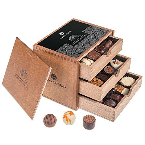 ChocoGrande - 30 deliziosi cioccolatini   Idea regalo   Compleanno   Fidanzata   Natale   San...