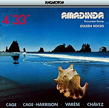 """Cage: 4'33"""" / Varese: Ionisation / Chavez: Toccata"""