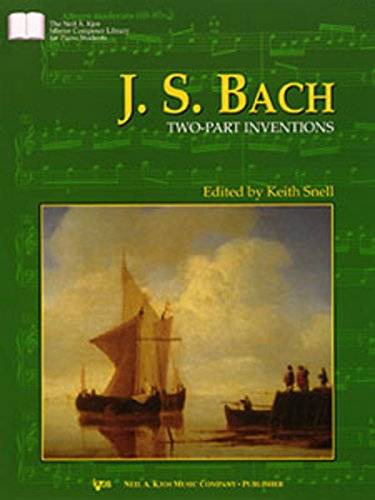 GP382 - J.S. Bach - Two-Part Inventions