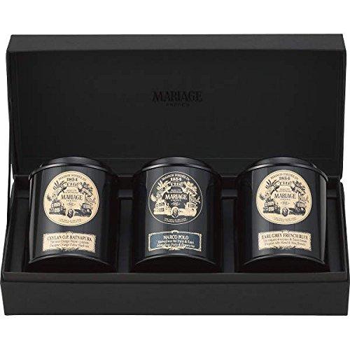 マリアージュ フレール 紅茶の贈り物 (マルコポーロ セイロンラトナピュラ アールグレイフレンチブルー NGS-5)
