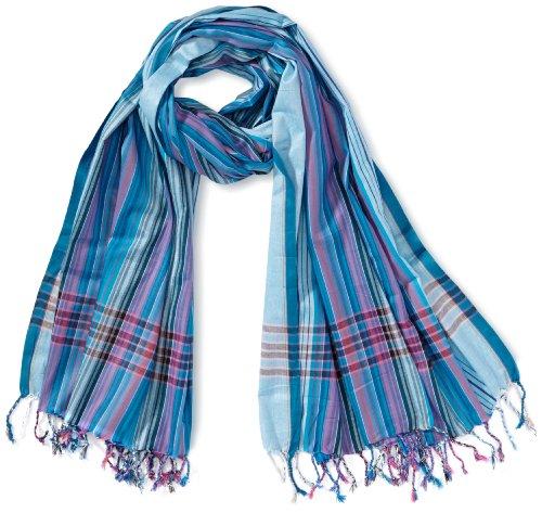 Kikoyland - Echarpe - Mixte - Bleu (Lightblue) - One Size (Taille fabricant: one size (OS)