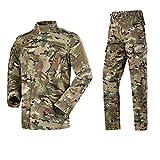 For Hombre De Las Fuerzas Especiales Militares Uniforme del Combate De Desgaste Camisa De Trabajo 9color Camuflaje del Ejército Táctico Más El Tamaño De Las Bragas De La Ropa Conjunto Waistcoat