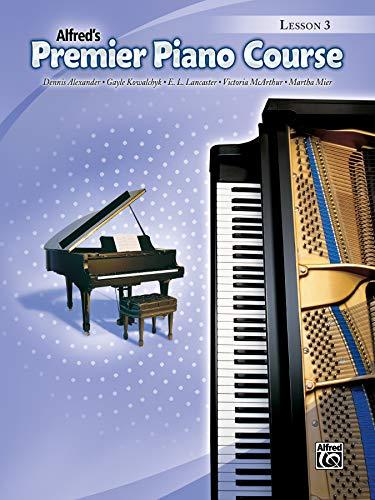 Premier Piano Course Lesson Book, Bk 3: Lesson Book 3 (Alfred's Premier Piano Course)
