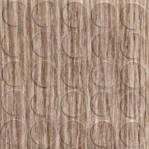 haggiy Selbstklebende Abdeckkappen für Möbel - Durchmesser 14 mm - 25 Stück - Möbelpflaster (Eiche Sonoma hell/Bardolino Natur)